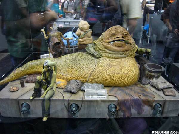 Jabba the Hutt Diorama gentle giant GG_SW60