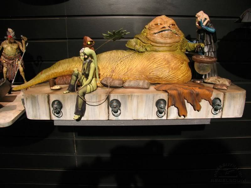 Jabba the Hutt Diorama gentle giant IMG_4435