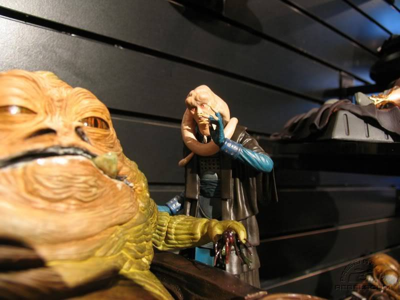 Jabba the Hutt Diorama gentle giant IMG_4439