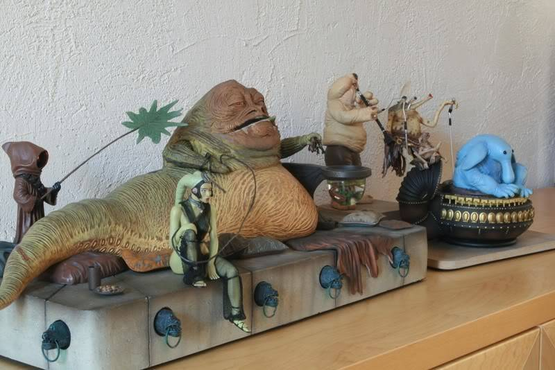 Jabba the Hutt Diorama gentle giant - Page 2 Img1031ti9