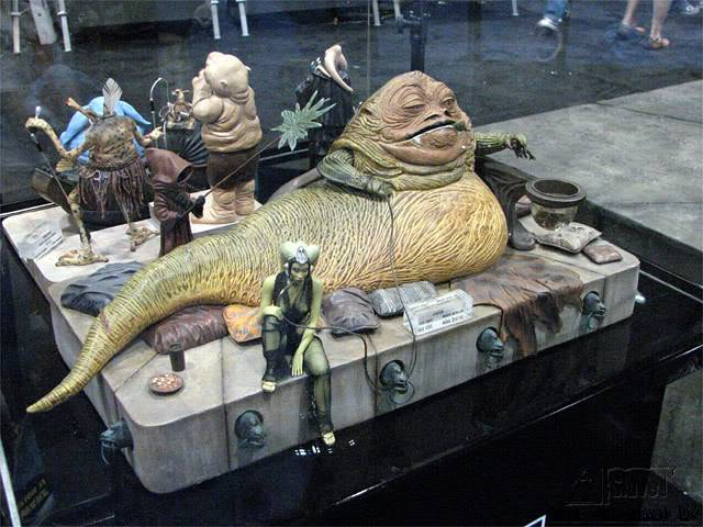 Jabba the Hutt Diorama gentle giant Img_1180199385_384