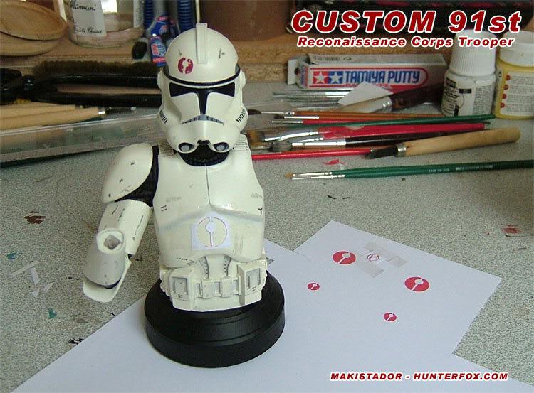 Custom - GG mini-bust  Clone 91st 1