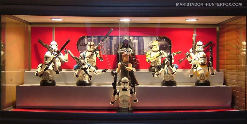 Présentoir pour bustes GG Star Wars 15