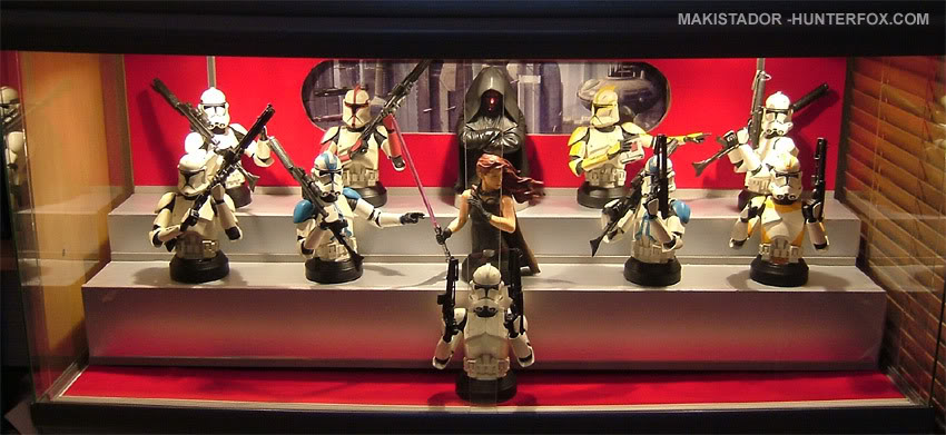 Présentoir pour bustes GG Star Wars 16
