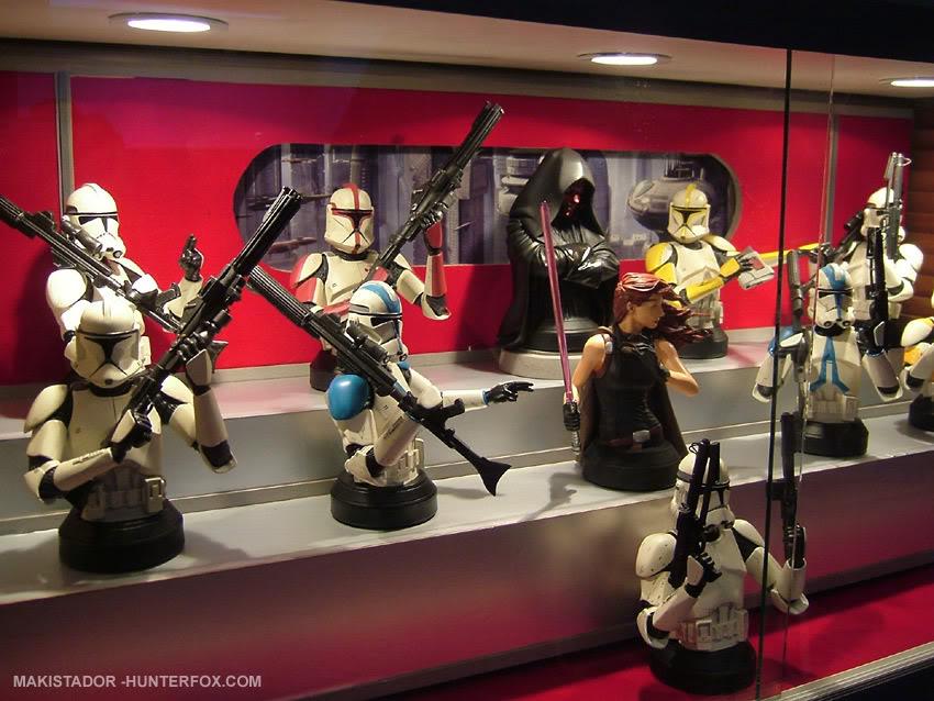Présentoir pour bustes GG Star Wars 17