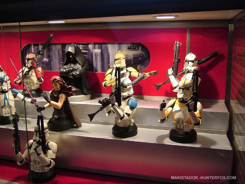 Présentoir pour bustes GG Star Wars 18