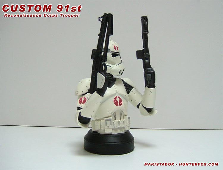 Custom - GG mini-bust  Clone 91st 3a
