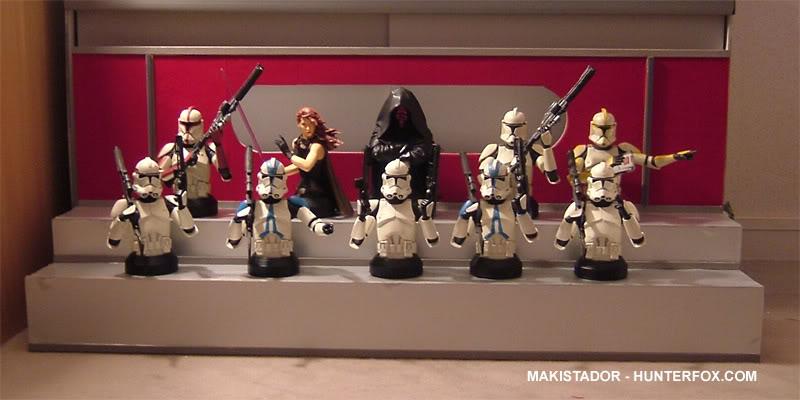 Présentoir pour bustes GG Star Wars 4