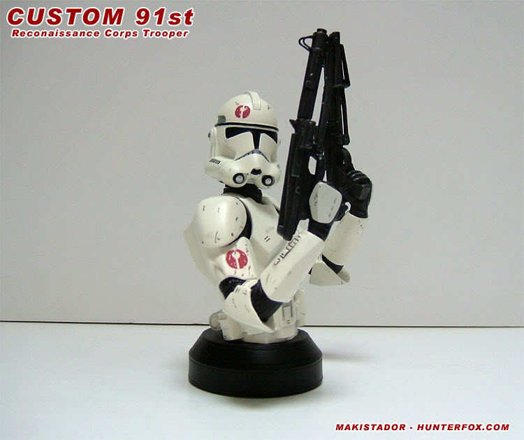 Custom - GG mini-bust  Clone 91st 4b