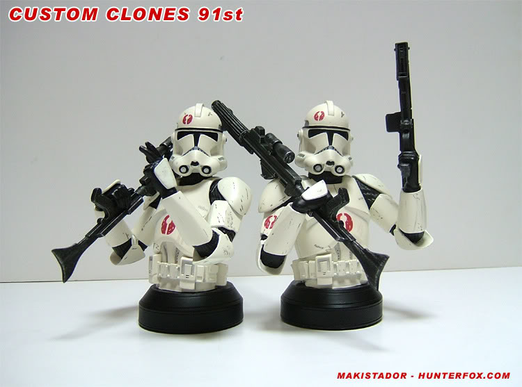 Custom - GG mini-bust  Clone 91st 7