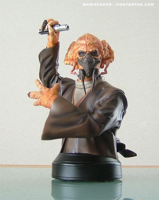 Custom - Peinture buste Plo Koon GG Plo1