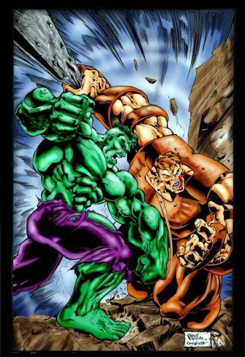 The Daily Bugle HulkVs.Juggernaut