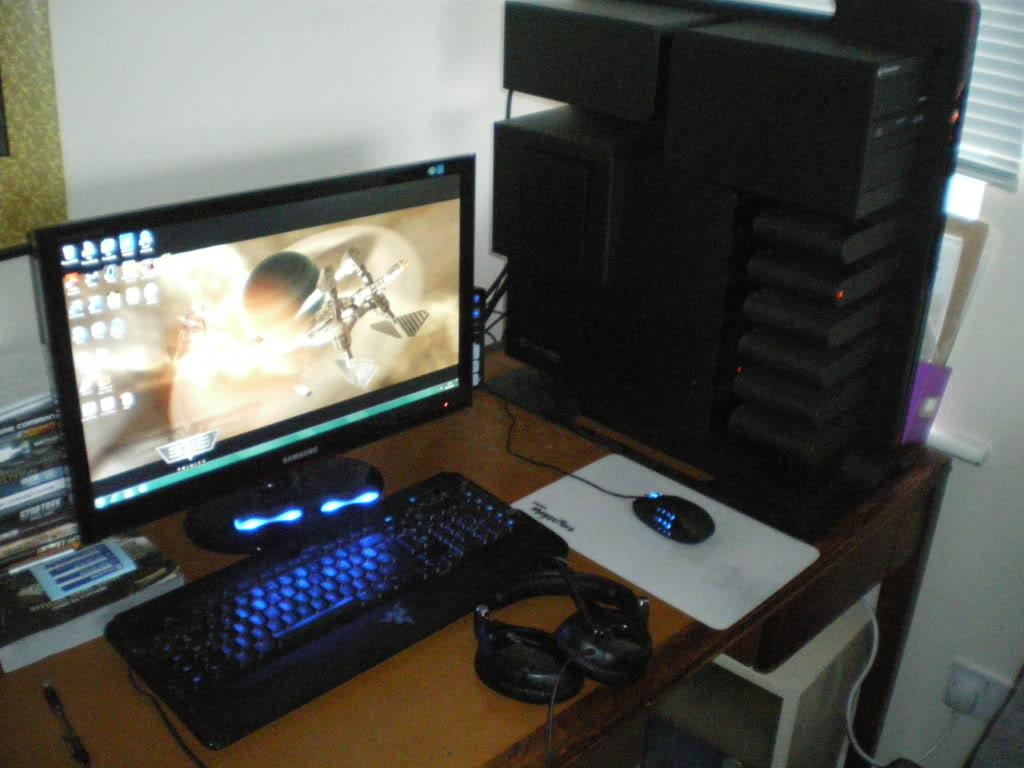 NEW COMPUTER + GAMES LINEUP!!! IMGP0847