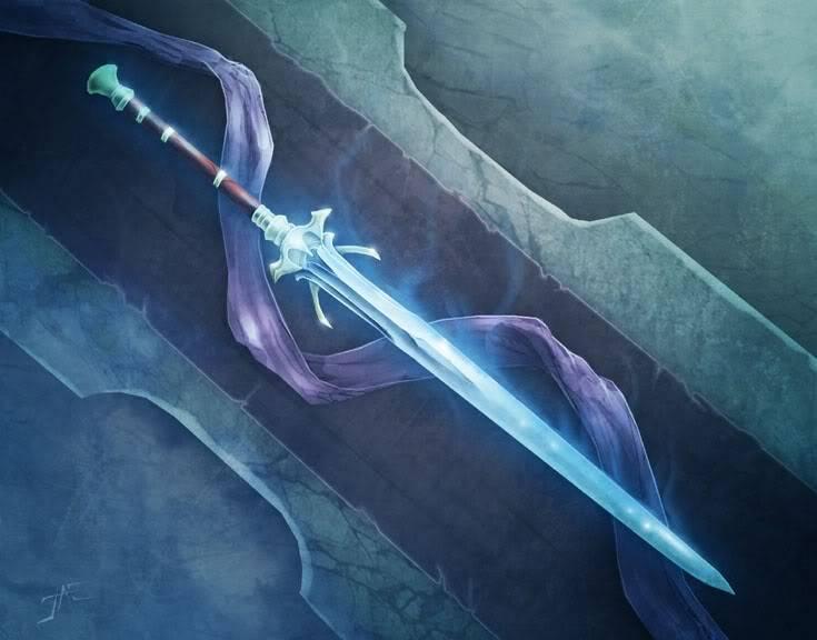 Zentyu's characters. Sword
