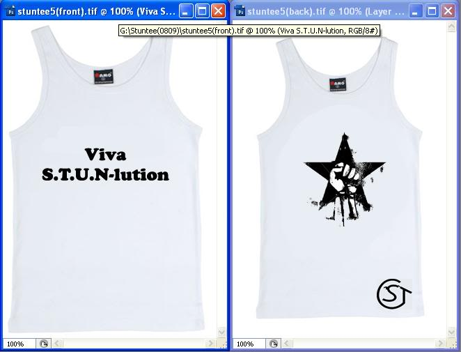 S.T.U.N Year tee for all to see only(copyright) Stuntee4