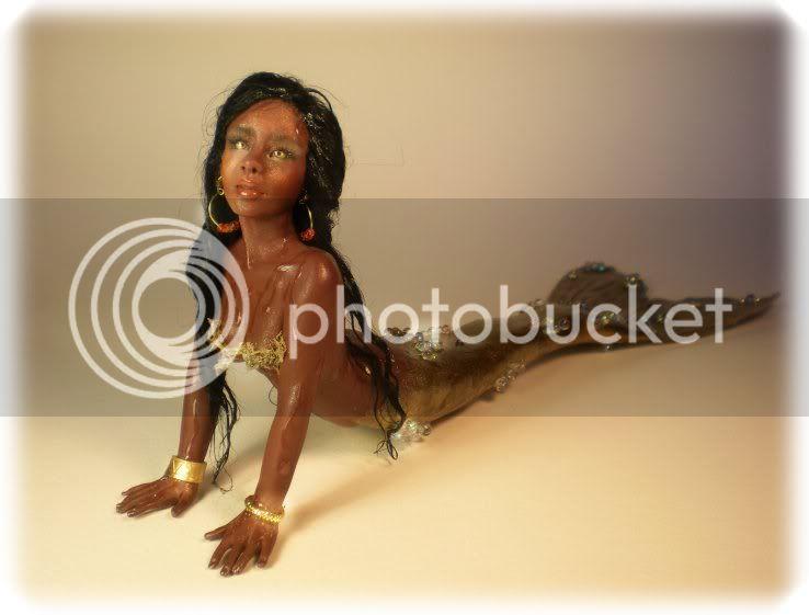 African Golden Mermaid 1-4