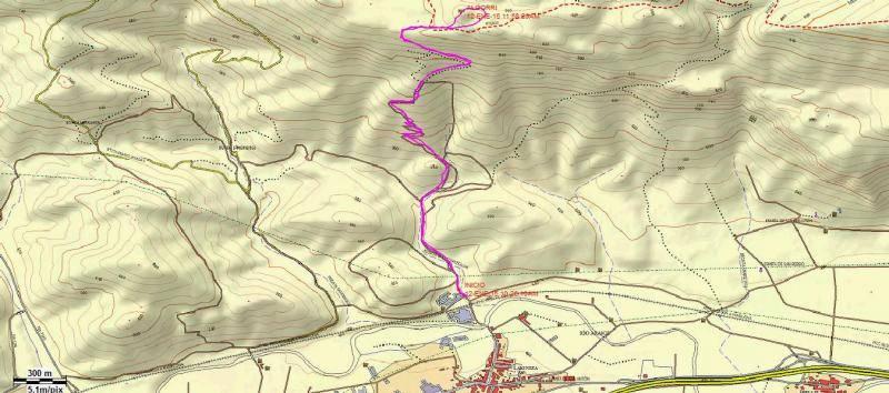 ALGORRI (El viejo camino de Lakuntza) Algorritopo