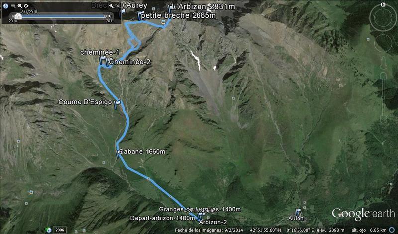 ARBIZON, 2.831m (El gigante del Aure) Arbizon%20earth