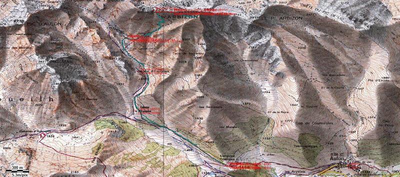ARBIZON, 2.831m (El gigante del Aure) Arbizon