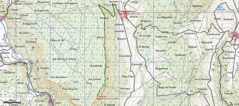 MENDIBIBILA Y ARBURU (Por los peñascos de Sabando) Arburu
