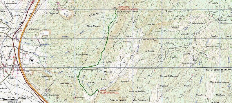 KARRASKAL (Otra cima de la sierra de Alaitz) Karraskal