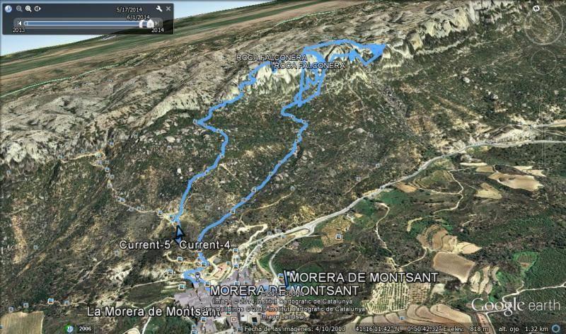 ROCA FALCONERA (El paseo de las águilas en el Montsant) Falconeraearth