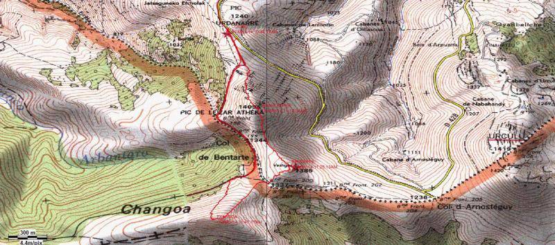 LEIZAR ATEKA, BENTARTE Y TXANGOA (El camino del peregrino) Txangoa