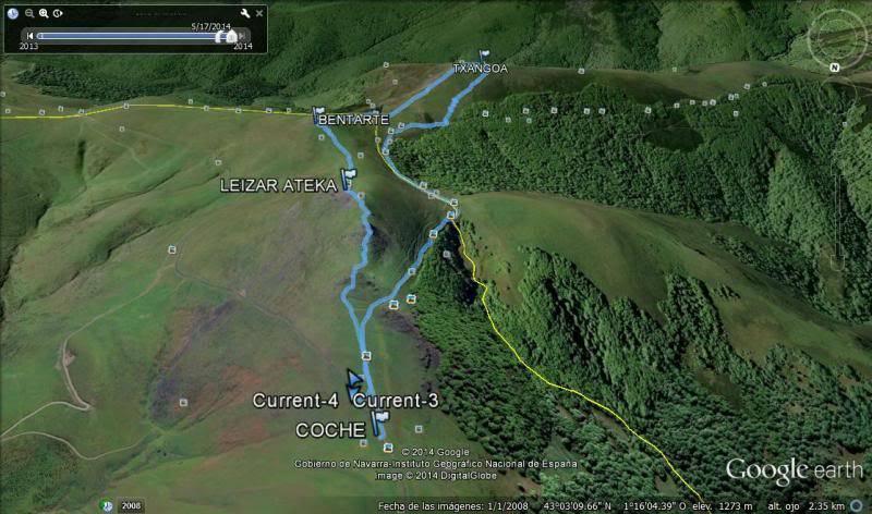 LEIZAR ATEKA, BENTARTE Y TXANGOA (El camino del peregrino) Txangoaearth