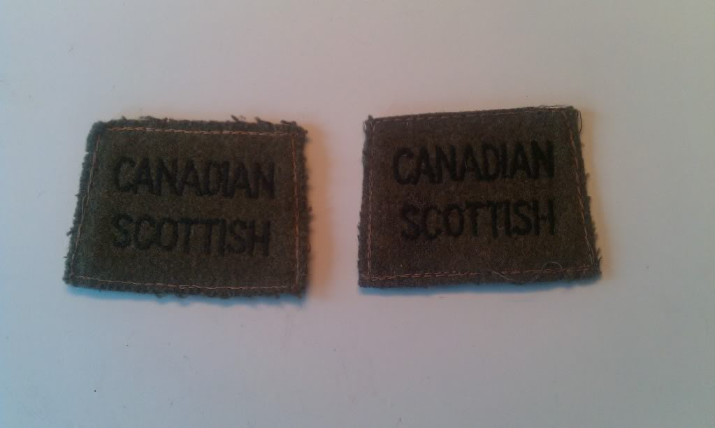 Canadian Scottish Insignia - Page 2 IMAG0237