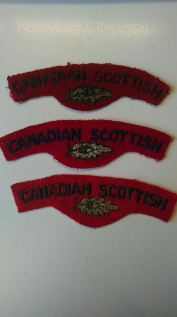 Canadian Scottish Insignia - Page 2 IMAG0285