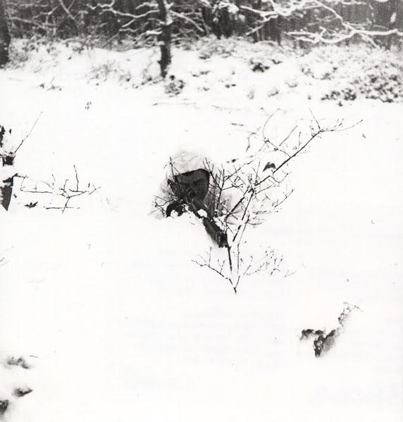 Mk II Winter White Camoflauge Cover QORNijmegen
