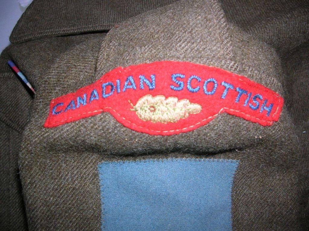 Stitching on badges Badges1