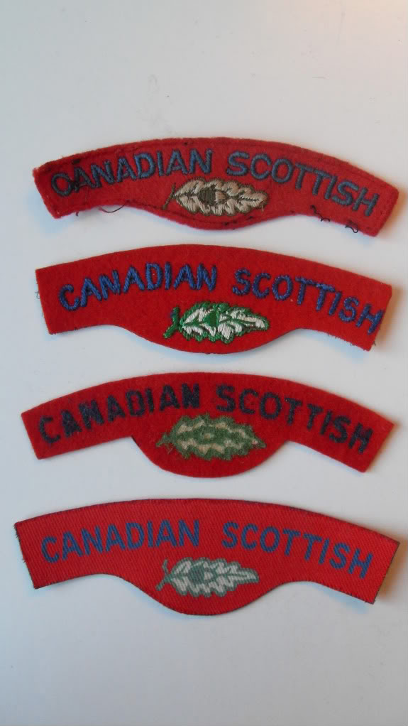 Canadian Scottish Insignia Badges190609-1