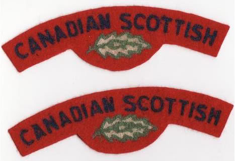 Canadian Scottish Insignia Cscotscans2