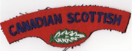 Canadian Scottish Insignia Cscotscans4