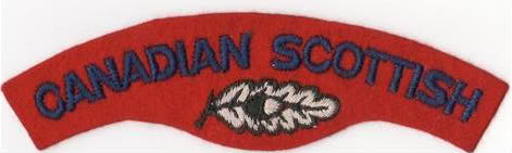 Canadian Scottish Insignia Cscotscans6