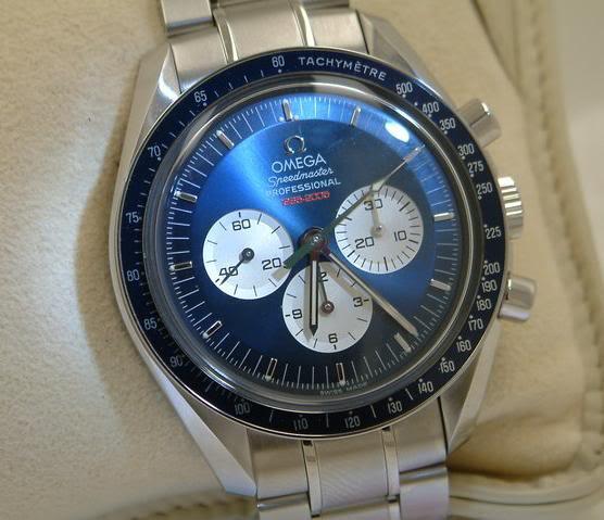 Feu de vos montres à cadran bleu clair Bleue3gross