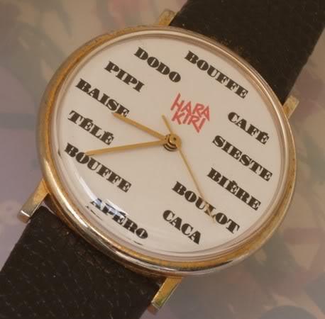 Excluisf : La montre de consultant enfin dévoilée ... Harakiri
