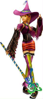 Rikku's Dress Spheres Blackmage-rikku