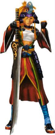 Rikku's Dress Spheres Samurai-rikku