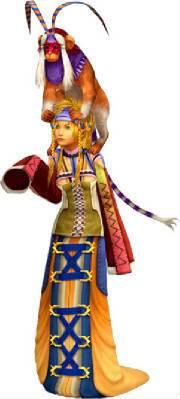 Rikku's Dress Spheres Trainer-rikku