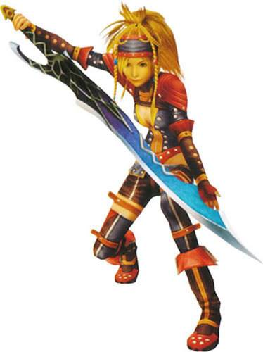 Rikku's Dress Spheres Warrior-rikku