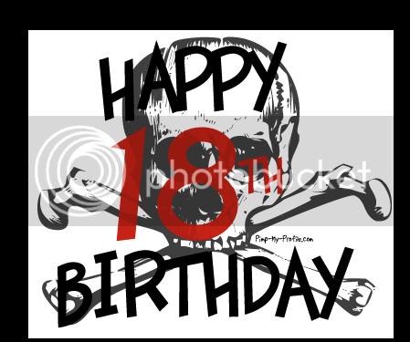 NUMEROS (imagenes) Happy18birthday