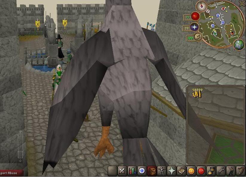 Runescape's New Threat Birdatack