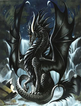 Door to darkness Darkdragon