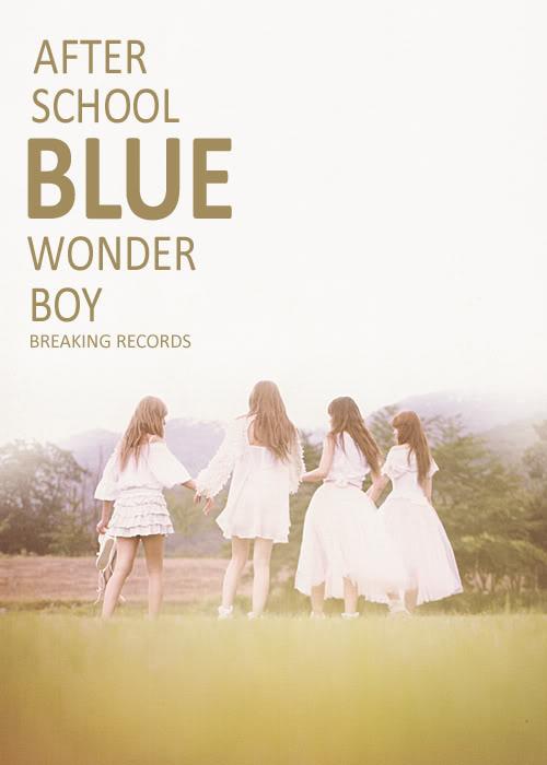 [PP 161] After School Blue - Wonder Boy ASBLUEBANNER