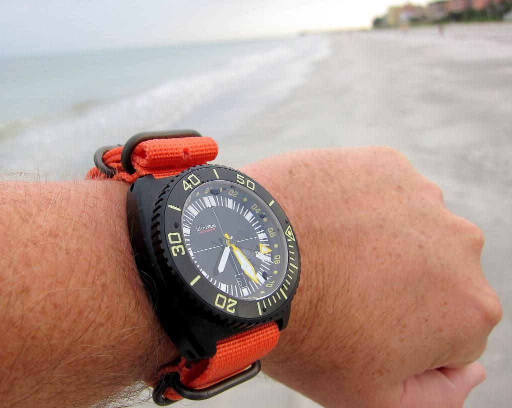 Watch-U-Wearing 8/7/10 TrimixonOrangeZuluatbeach