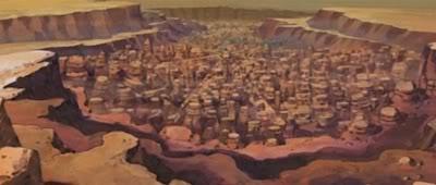 砂隠れの里( Hidden Sand Village)