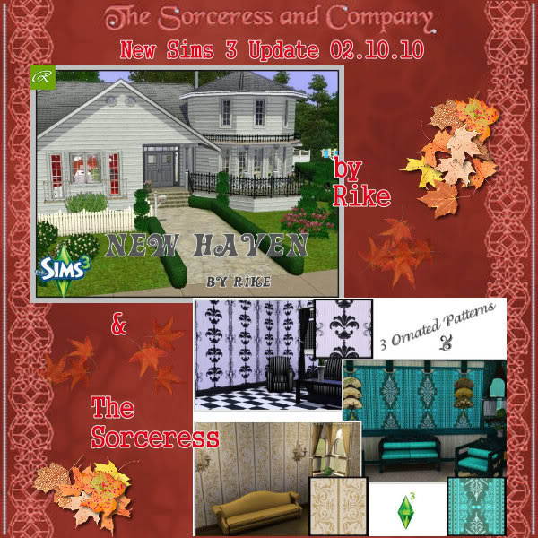 Finds Sims 3 .:. 2 - Octubre -2010 .:. Poster0210