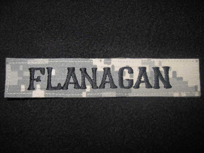 Some of my first In-Country Made patches, Name Tapes, 1st Lt, ISAF, others IMG_0982